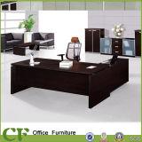 Mobília de escritório luxuosa L mesa de escritório da forma moderna