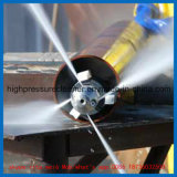 Machine industrielle à haute pression de nettoyage d'échangeur de chaleur de rondelle