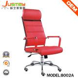Gestionnaire de cuir rouge ergonomique Boss chaise de bureau