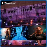 Cubierta a todo color Audio Visual Display LED