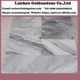 La decorazione domestica copre di tegoli le mattonelle di pavimento di marmo di marmo grige nuvolose in Cina