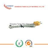PVC/caoutchouc/PTFE/câble de thermocouple isolé par PFA (type JX)