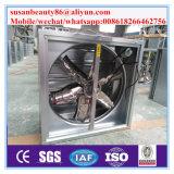 O tipo estufa resistente/do peso balanço/aves domésticas abriga/exaustor do obturador do ventilador caixa da indústria com CE