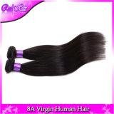 rollt unverarbeitete brasilianische Webart des geraden Haar-6A helles Yaki 3PC/Lot natürliches schwarzes brasilianisches Jungfrau-Haar Extensionson auf Verkauf zusammen