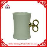 Verglaasde Ceramische Mok