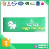 HDPE مخصص مطبوعة المعطرة الجملة البلاستيك الكلب مؤخرة السفينة حقيبة
