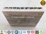 Favo de mel de pedra de alumínio para fachadas de paredes
