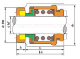 Механическое уплотнение, Wemco Hidrostal уплотнения насоса, металлическую прокладку сильфона