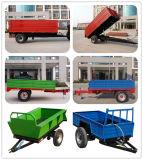 singolo rimorchio pratico fuori strada dell'azienda agricola del rimorchio della casella dell'azienda agricola dell'asse ATV