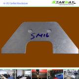 Pièces faites sur commande de découpage de laser de précision avec la qualité Fabriation