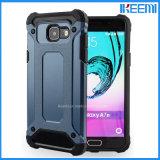 Caisse mince d'armure, cas de téléphone mobile pour la galaxie A3 A5 A7 de Samsung