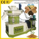 Ring Die Presse à pastilles 1-1.5T/H 90KW machine à granulés de luzerne de la biomasse