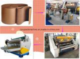 Elektrische Shaftless Tausendstel-RollenStand&Corrugated Pappmaschine
