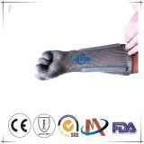 Устойчивость к резки металла Long-Sleeve кольцо сетка перчатки и защитные перчатки из нержавеющей стали Long-Sleeve/Long-Sleeve цепи перчатки электронной почты