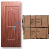 Piel de madera tecnológica de la puerta de la madera contrachapada de la chapa de Sapelli