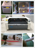 Bordados de tecido etiquetas máquina de corte a laser