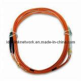 Faser-Optiksteckschnür LC/ST Millimeter (ID-LC/ST Millimeter - 2 120608)