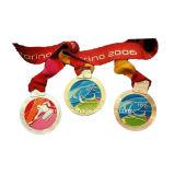 カスタム卸し売り安いダンスのコップ賞メダル