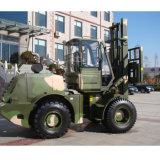 5 Tonnen-raues Gelände-Gabelstapler im Gabelstapler für Verkauf