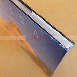 Une impression polychrome de livre de livre À couverture dure d'impression de livre de couleur