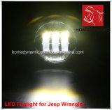 """4 """"LED faro per la Jeep Wrangler"""