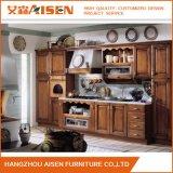 Muebles de Cocina de madera nueva madera maciza gabinetes de cocina