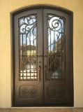 鋼鉄ドアの出入口のタイプ熱い販売の鉄の機密保護のドア