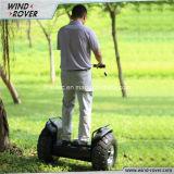 Wind-Vagabund-privater vorbildlicher Selbst, der elektrischen Roller balanciert