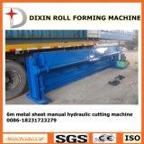 Machine Om metaal te snijden van het Blad van Dx de Hydraulische