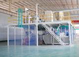 Puder-Beschichtung-Produktionszweig der Kapazitäts-500kg/H hoch qualifizierter