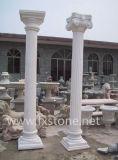 Colonne de pierre de pilier en marbre