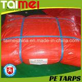 차 또는 트럭 /Pool/Boat를 위해 취급되는 UV를 가진 50GSM~300GSM 중국 PE 방수포 덮개