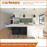 Askl111 weißer und schwarzer moderner Lack-Küche-Schrank