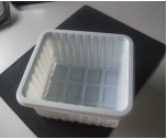 Máquina plástica automática cheia do copo da água de Thermoforming
