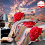 100%Polyester Microfiber Brushed Fabric для Bedding Sheet 3D