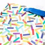 Zakken van het Document van de Gift van de Zakken van de Gift van de Verjaardag van de Zakken van het Document van de Cake van de verjaardag de Kleine Hologram Afgedrukte