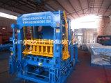 Bloco de cimento automático da vibração Qt4-15 que faz a máquina a máquina do tijolo contínuo