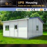 Casa del panel con el solo suelo/llano prefabricados