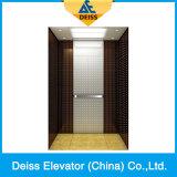 Ascenseur résidentiel Dkw1000 de passager de maison de traction de Roomless Vvvf de machine