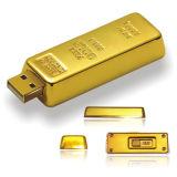 ذهبيّة قضيب معدنة [أوسب] [فلش ديسك] [أوسب] برق إدارة وحدة دفع