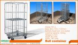 Logistisches Walzen-faltbare Behälter-Laufkatze 500kg