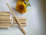 Palillos de bambú del embalaje automático de gama alta de los palillos con insignia