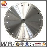230mm350mm 400mm sinterizada corte a seco Diamante segmentada serra de corte