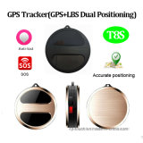 Perseguidor del GPS con el botón el SOS (T8S)