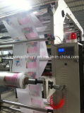 6つのカラーフレキソ印刷の印字機(DY-6800)