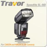 SL568 flash Speedlite de Canon y Nikon cámaras DSLR