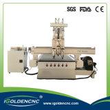 둥근 나무, 실린더 물자를 위한 CNC 기계 4 축선