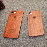 Natural de madera de palisandro de PC de madera tallada Estuche rígido para el iPhone 7