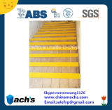 La fibre de verre FRP GRP escalier anti-patinage nez adopté Certification ABS et SGS Test