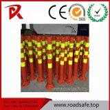 Dessinateurs r3fléchissants de route de poste de dessinateur/poste d'avertissement route r3fléchissante
